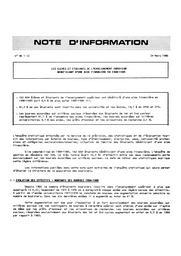 Les élèves et étudiants de l'enseignement supérieur bénéficiant d'une aide financière en 1984-1985   FLAMMANG, Béatrice