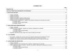 Formations (les) d'ingénieurs en partenariat (ex NFI). Effectifs des élèves en 2002-2003. Diplômes délivrés en 2002. Public, privé. | BRIFFAUX, Amélie