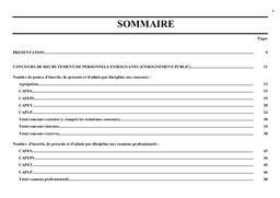 Concours (les) de recrutement des personnels enseignants d'éducation et d'orientation.   VALETTE, Catherine