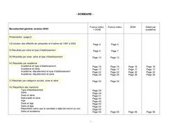 Résultats définitifs du baccalauréat d'enseignement général en 2003. | BRIFFAUX, Amélie