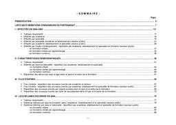 Formations (les) d'ingénieurs en partenariat (ex NFI). Effectifs des élèves en 2004-2005. Diplômes délivrés en 2004. Public, privé.   PERELMUTER, Delphine