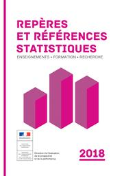 Repères et références statistiques : enseignements, formation, recherche : [RERS 2018] | France. Ministère de l'éducation nationale et de la jeunesse (MENJ). Direction de l'évaluation, de la prospective et de la performance (DEPP). Éditeur scientifique