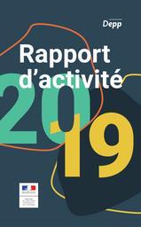 Rapport d'activité : 2019 | ROSENWALD, Fabienne. Directeur de publication