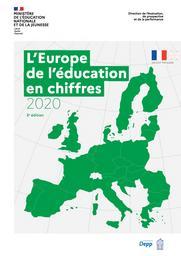 L'Europe de l'éducation en chiffres 2020 : 3em édition / Robert Rakocevic, Yann Fournier    ROSENWALD, Fabienne. Directeur de publication